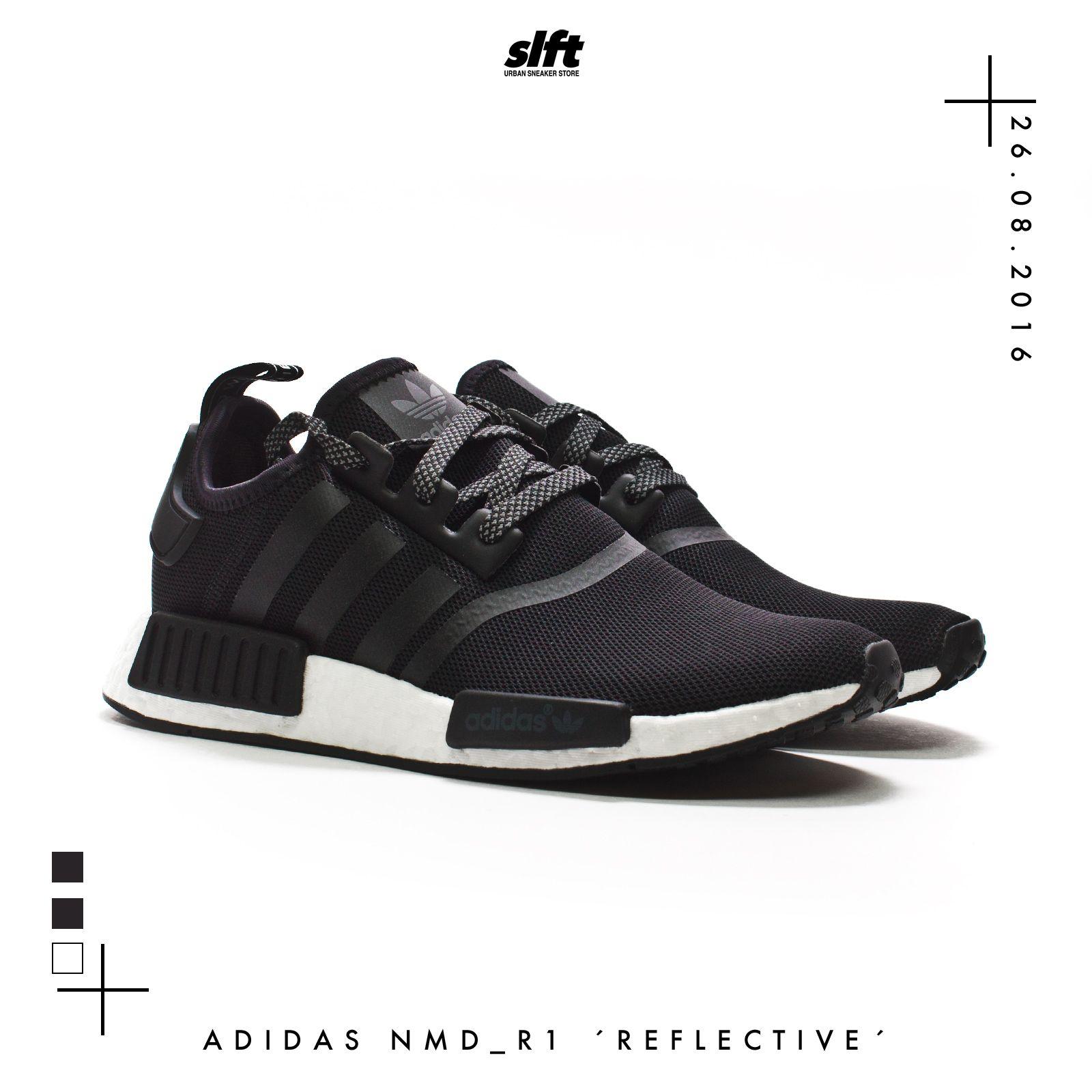 sports shoes 4ba19 be23f ... release date der adidas nmd r1 core black core black reflective white  aus dem reflective black