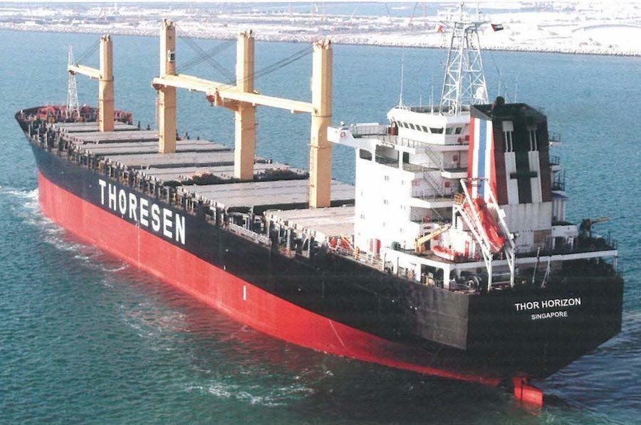 Thoresen Thai Agencies has announced the sale of 1995-built