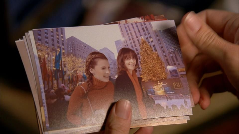 Beckett and her mother