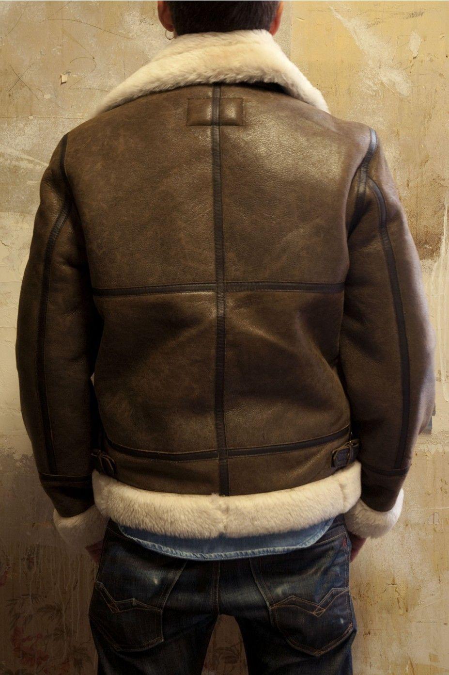 Winter FashionLeather Nyc Schott Jacket Pilot Mens UqSMpzVG