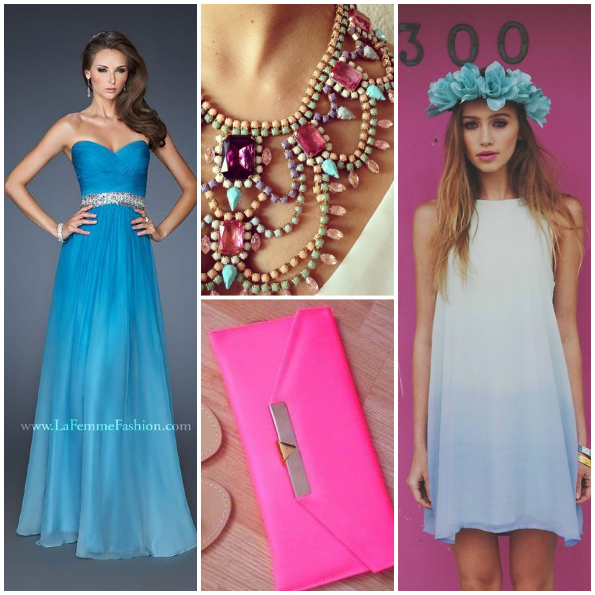La Femme style 18486 - turquoise prom dress http://lafemmefashion ...