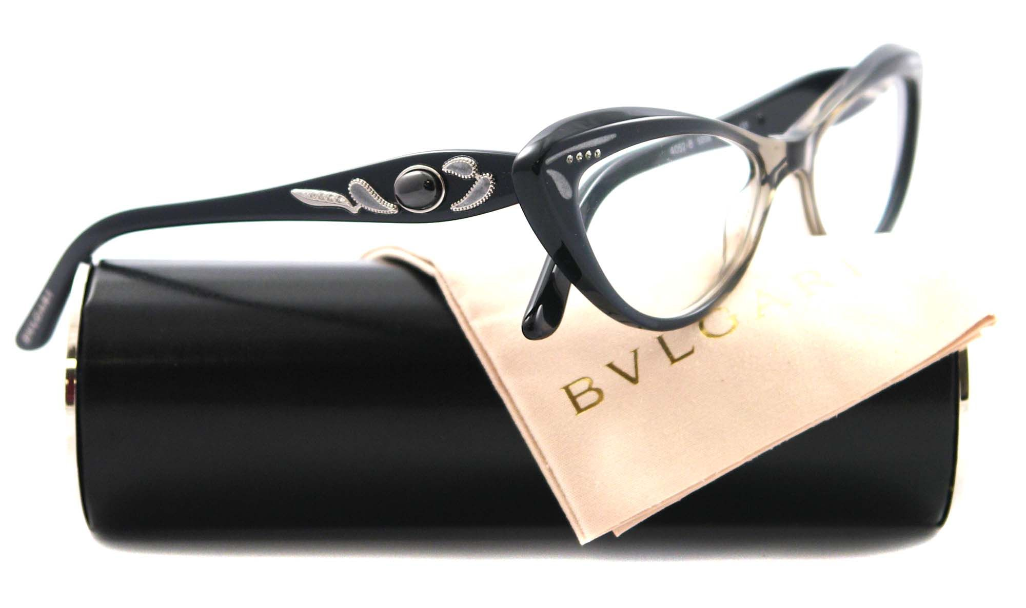 f433d511be5 NEW Bvlgari Eyeglasses BV 4052B GREEN 5209 BV4052 51MM AUTH