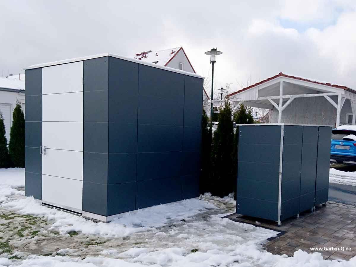 Gartenhaus In Ral 7016 Anthrazit In 2020 Gartenhaus