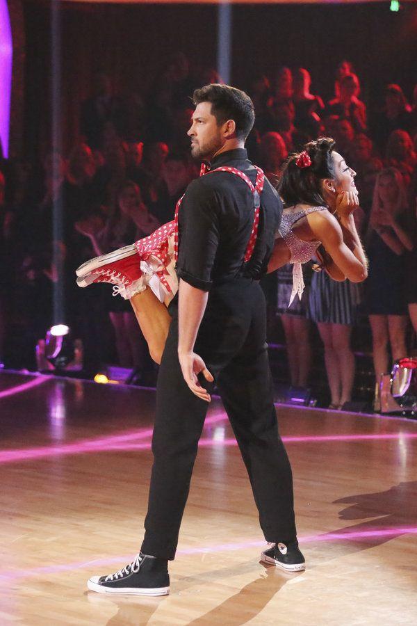 Maks Chmerkovskiy & Meryl Davis - Dancing With the Stars - week 2 - season 18 - spring 2014