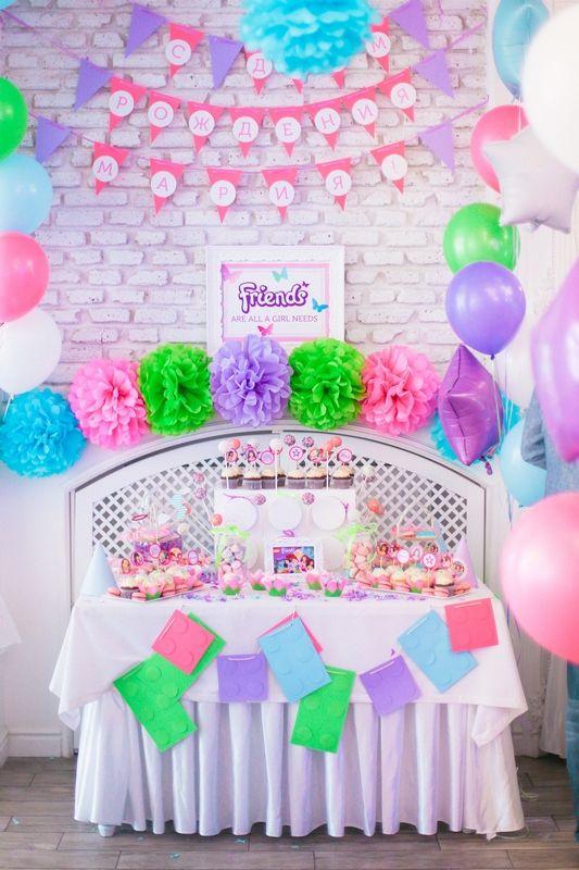 Украшения детского день рождения фото