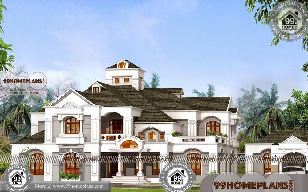 Bungalow Style Homes With Double Story Arabian Model House Elevations In 2021 Beautiful House Plans House Arch Design Model House Plan