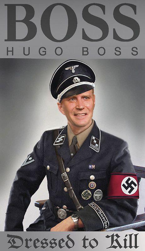 Populaire Hugo Boss diseñando uniformes Nazis | Historia Militar | Pinterest  CO37