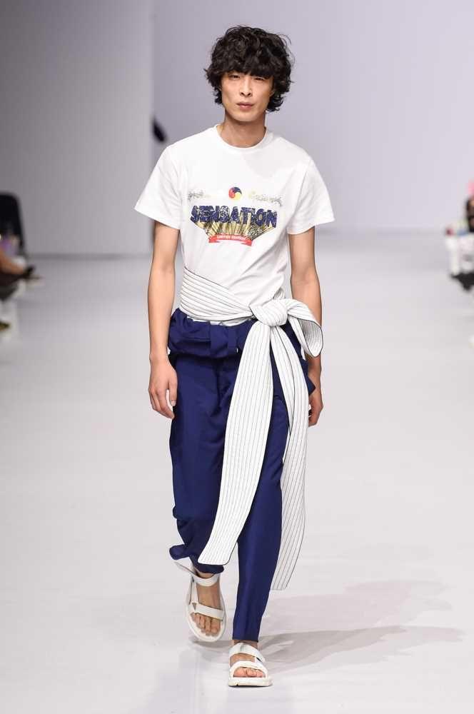 da1f56771006 Male Fashion Trends  YCH Spring-Summer 2018 - Seoul Fashion Week