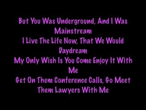 Nicki Minaj Song Lyrics Only