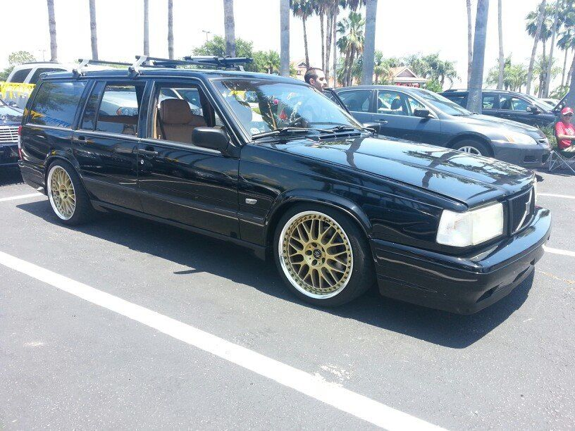 Volvo 740 Turbo Wagon Propus Wheels Gold Coches Clasicos Coches