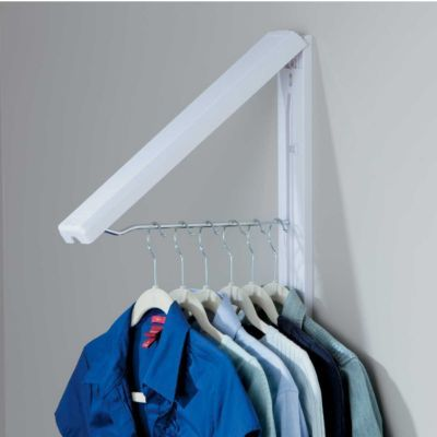 Exceptional QuikCloset Wall Mounted Garment Rack