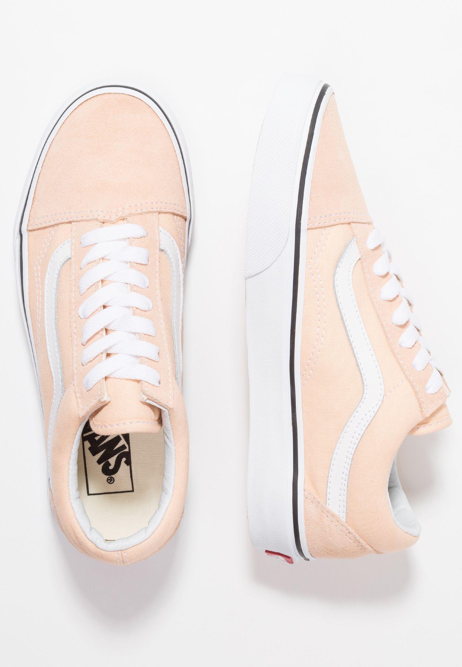 cf5395c90a Vans OLD SKOOL - Sneaker low - bleached apricot true white - Zalando.de
