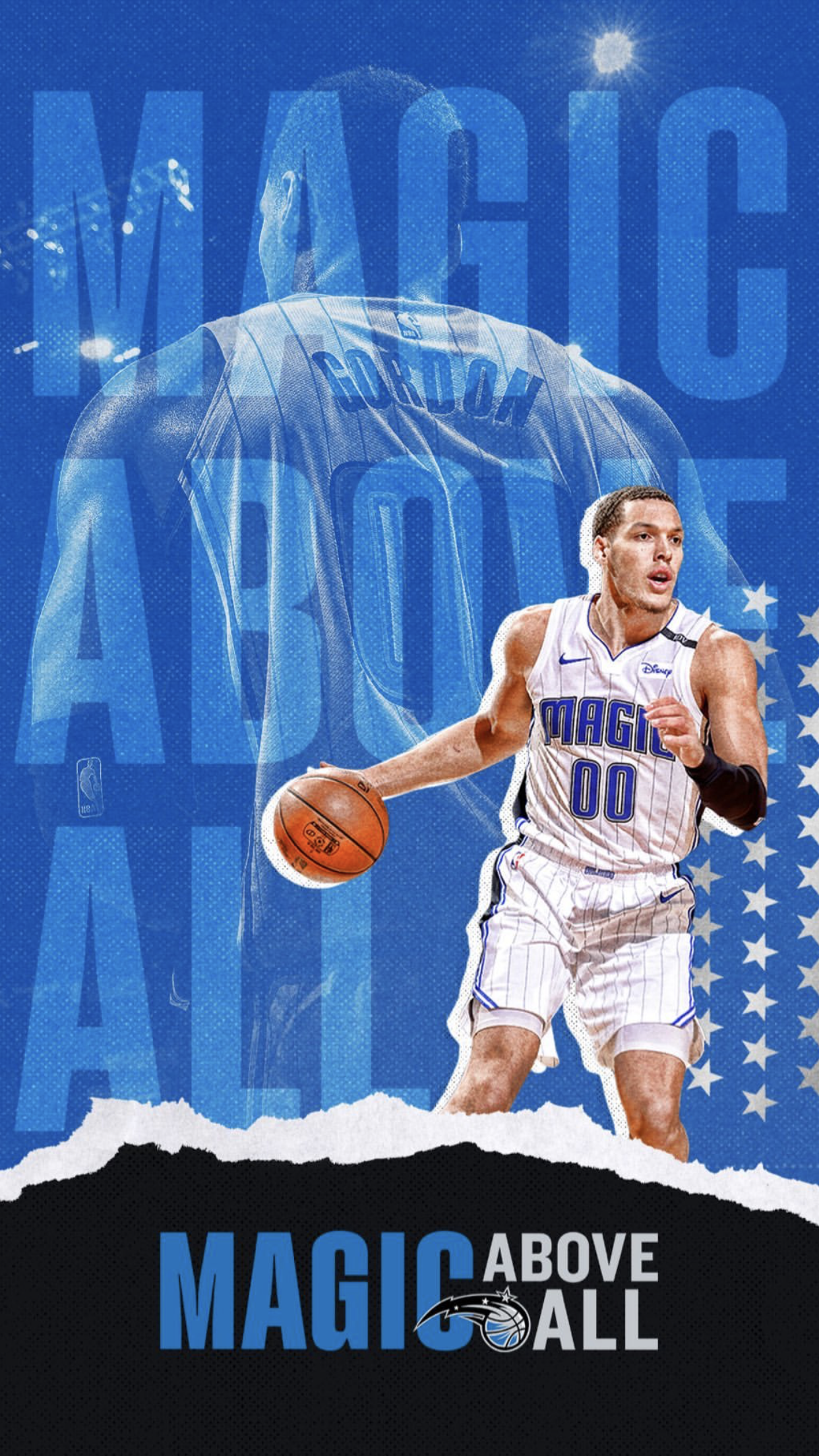 Orlando Magic Wallpaper 2019 Ag Aaron Gordon 00 Orlando Magic Sports Graphic Design Orlando