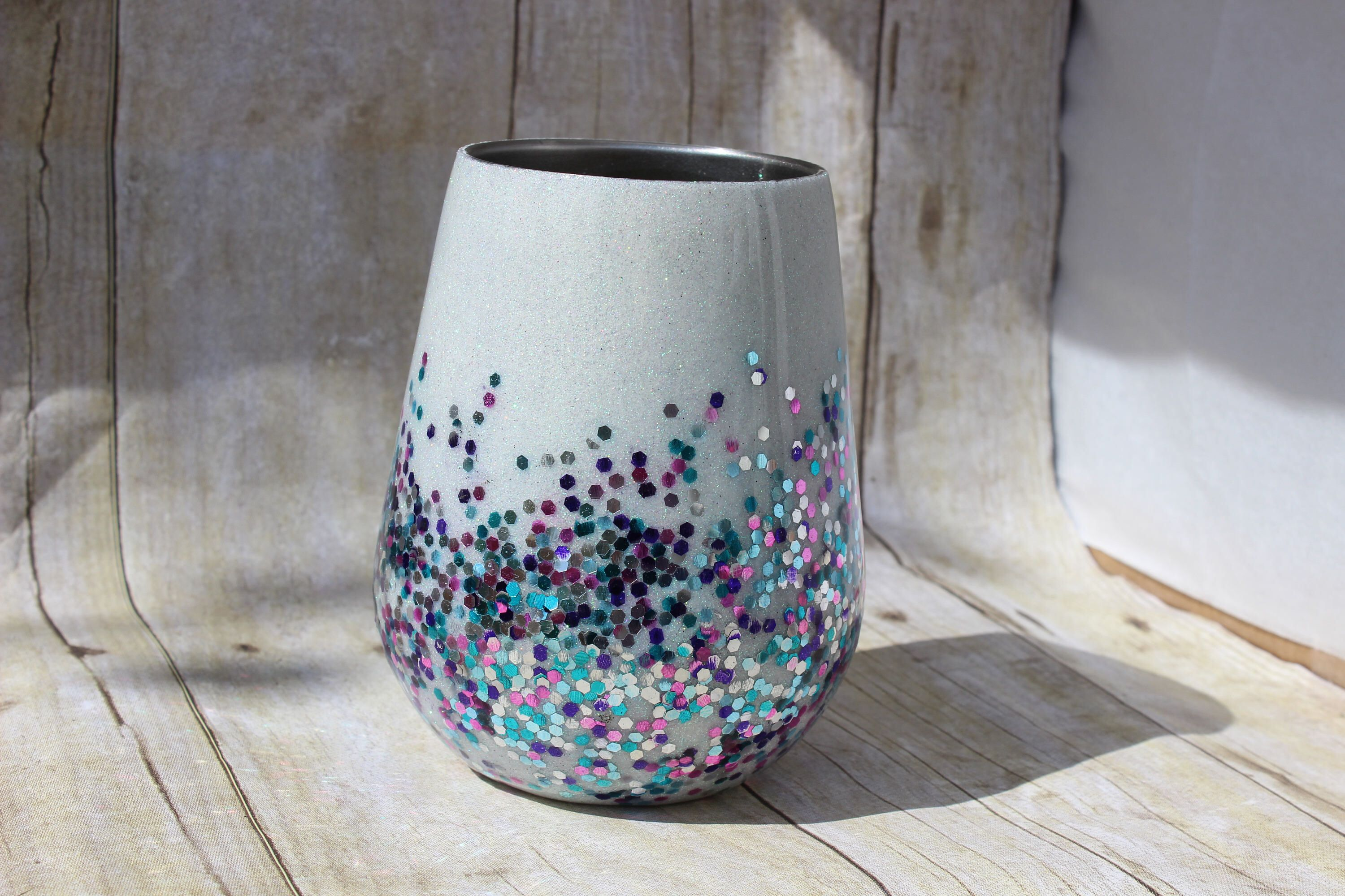 Pin By Ambir Moore On Mugs Tumbler Wine Glasses White