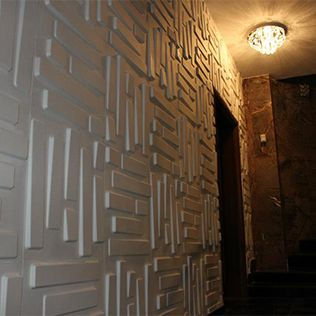 Embossed Tiles Wall Decor 3D Board And Wall Decor  Embossed Wall Panels  3D Design Tile