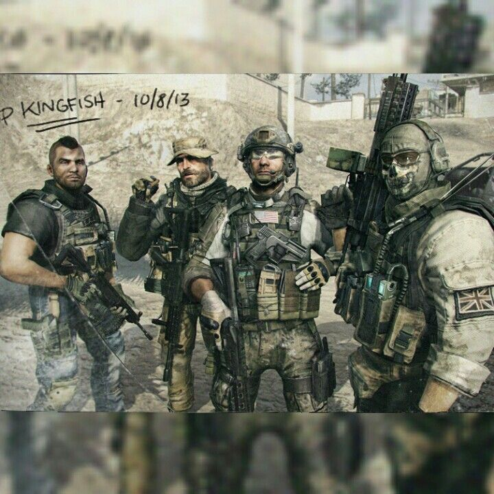 Soap Price Ghost And Sandman Call Of Duty Modern Warfare Call Of Duty Zombies