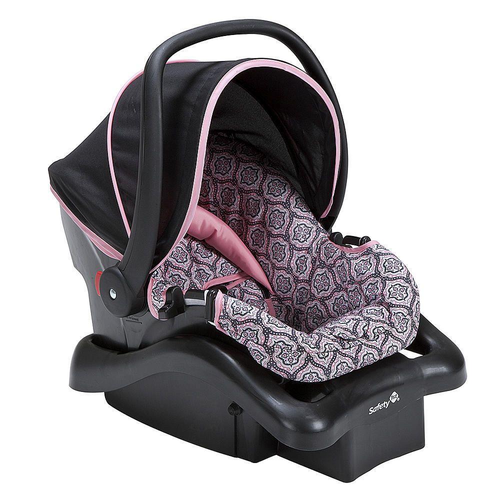 Safety 1st Light N Comfy Infant Car Seat Granada Rose Pink
