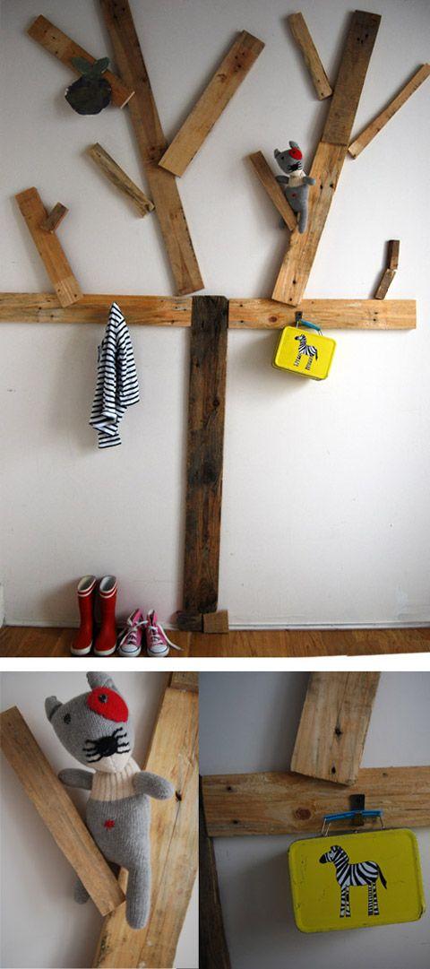 diy perchero reciclado decoracin hogar ideas y cosas bonitas para decorar el hogar