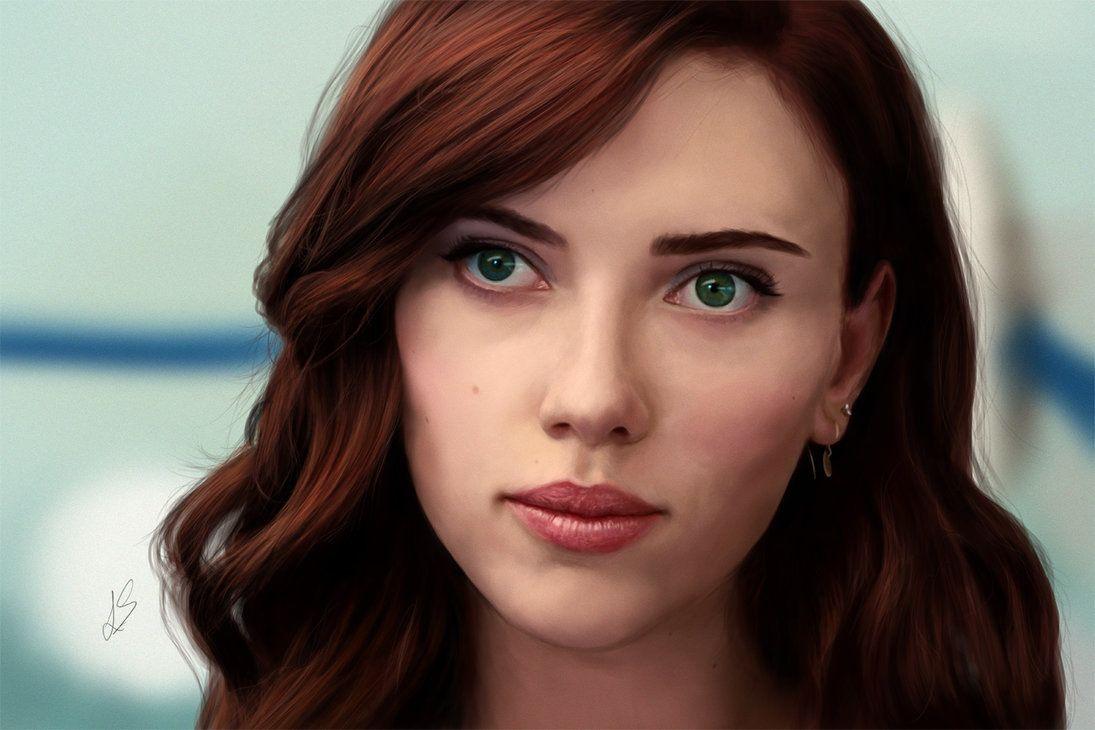 Natasha Romanoff Scarlett Johansson By Unam Et Solum