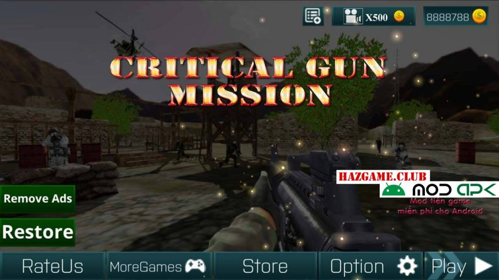 Counter Terrorist Critical Gun Mission Mod Apk - Counter Terrorist