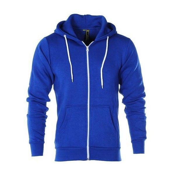 791a70cbff26 Raiken Apparel Flex Fleece Zip Up Hoody ( 9.82) ❤ liked on Polyvore  featuring tops