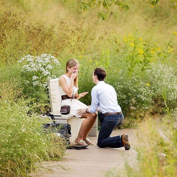 45 demandes en mariage si romantiques et originales qu il aurait t impossible de refuser. Black Bedroom Furniture Sets. Home Design Ideas