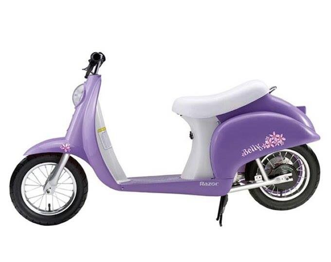 Pretty purple Vespa