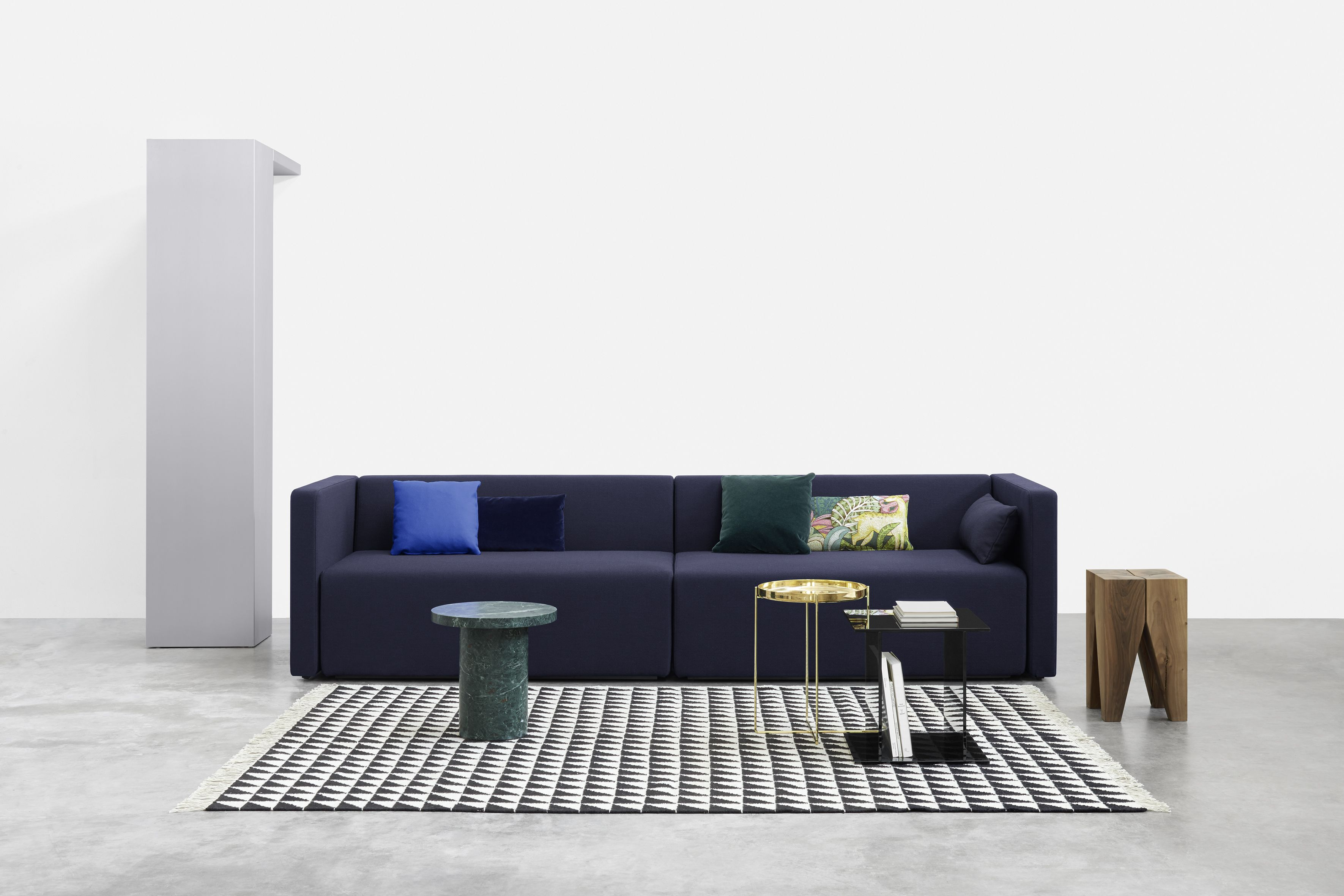 Sofa Kerman By Philipp Mainzer And Farah Ebrahimi Strikes A Balance Between Elegant Repose Modernist