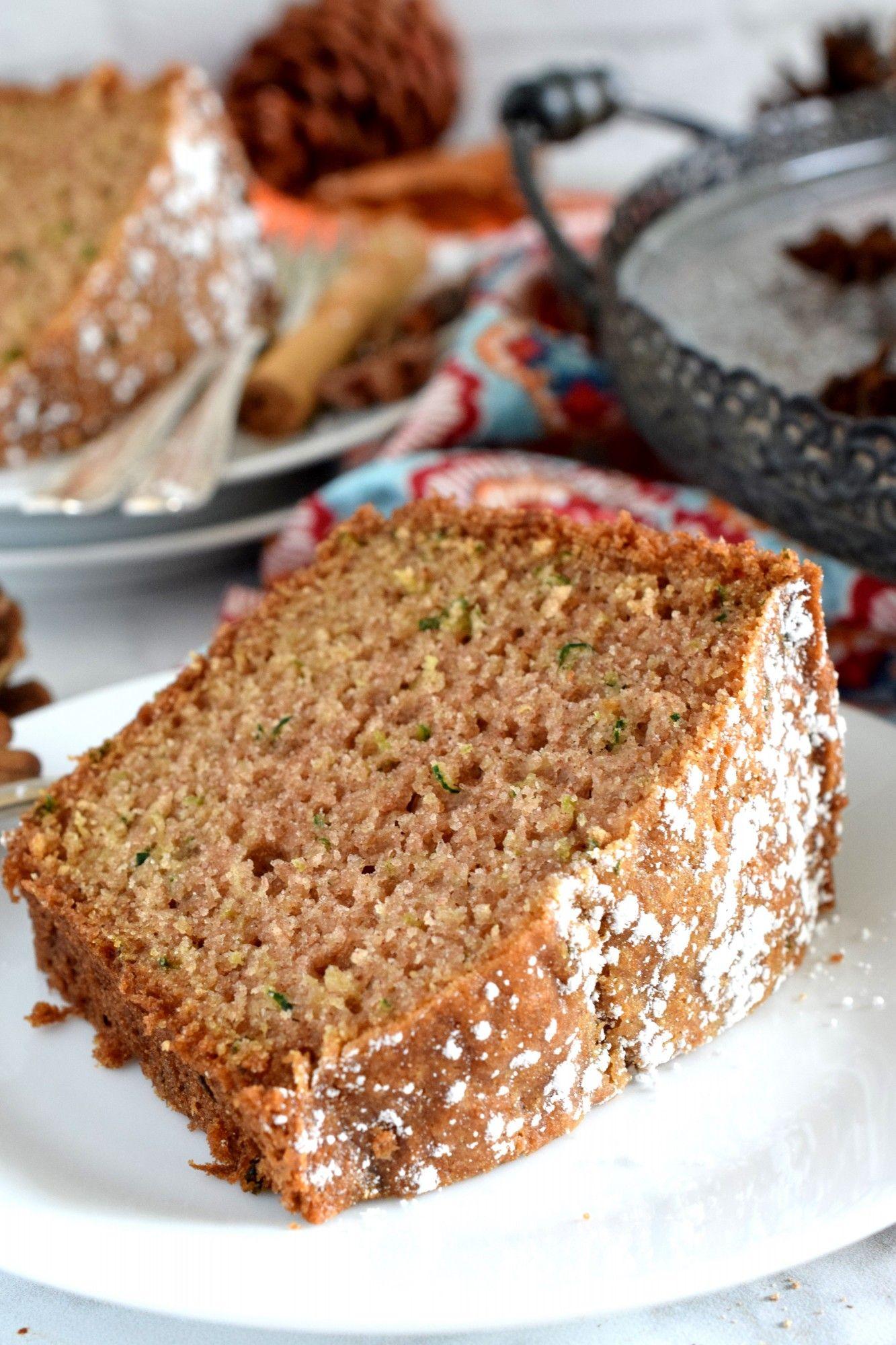 Autumn spiced zucchini bundt cake lord byrons kitchen