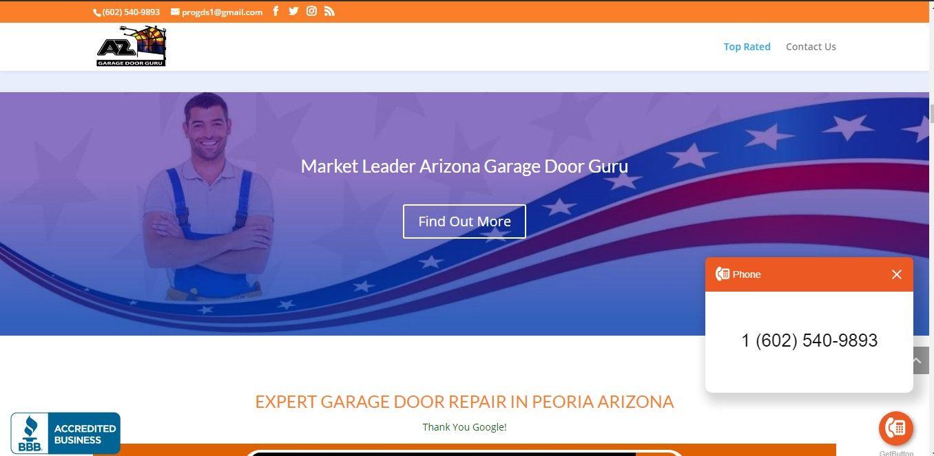 Https Phxgaragedoor Guru In 2021 Door Repair Garage Door Repair Peoria Arizona