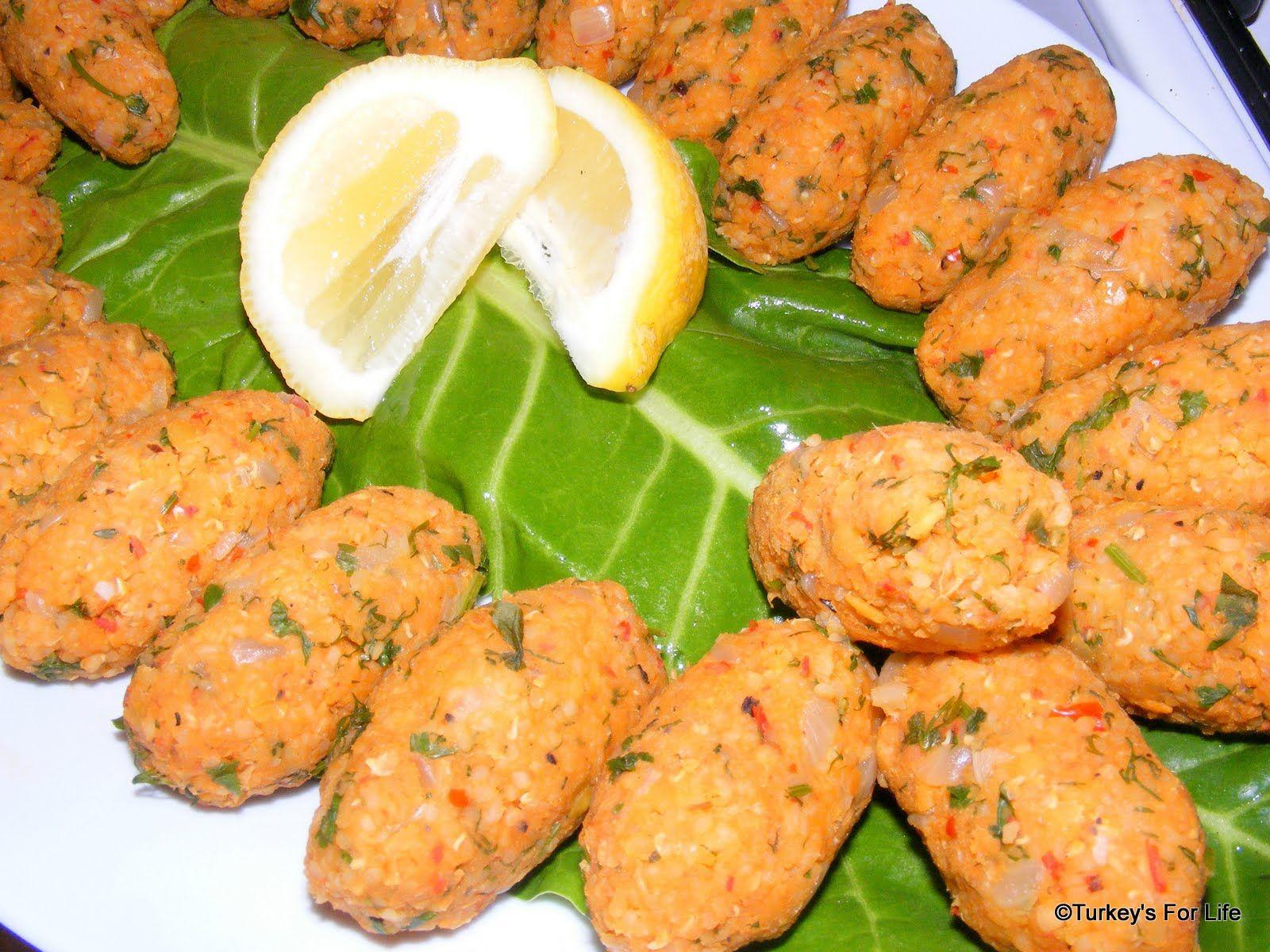 Turkish recipes mercimek kftesi summer dishes lentils and food forumfinder Choice Image