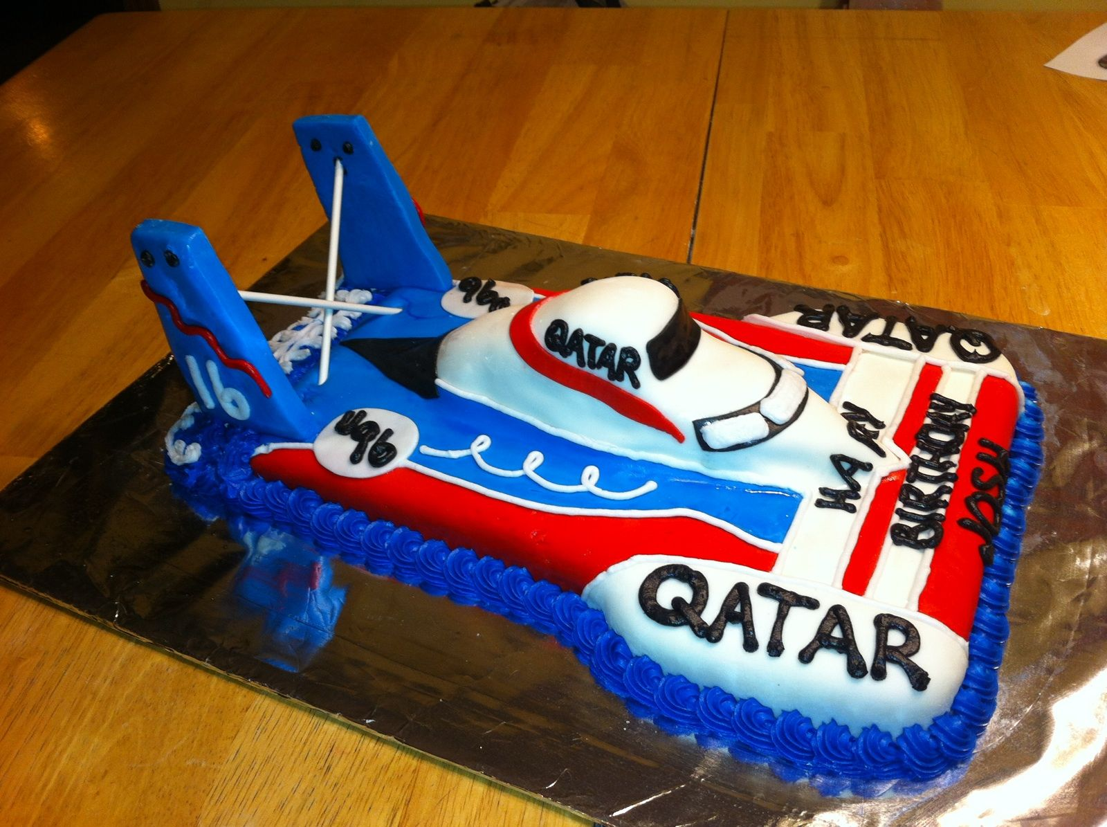 Racing Boat Birthday Cake Cake Diva Cakes Pinterest Birthday - Boat birthday cake ideas