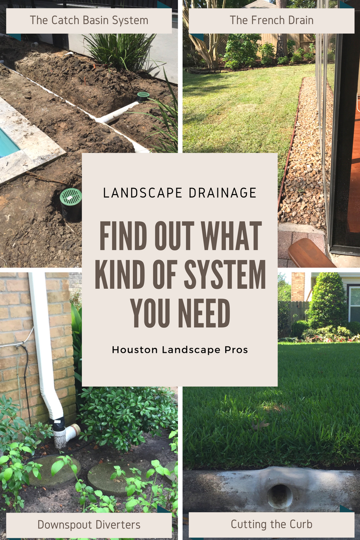 Landscape Drainage Solutions! In this page, we provide short ...