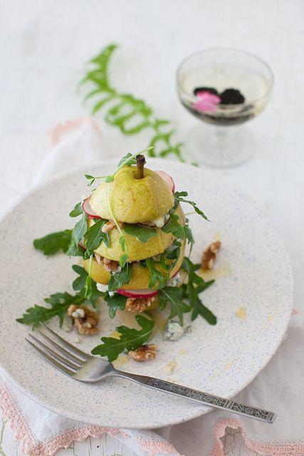 Pear Arugula Salad