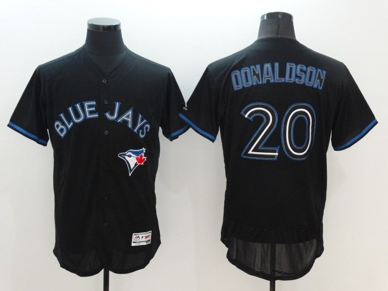 wholesale dealer d5cfc f66ae 2016 MLB FLEXBASE Toronto Blue Jays 20 Donaldson black ...