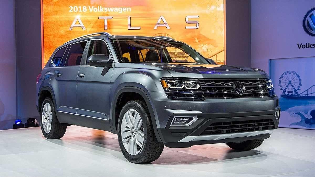 2019 Volkswagen Atlas Metallic Grey Volkswagen, Best mpg