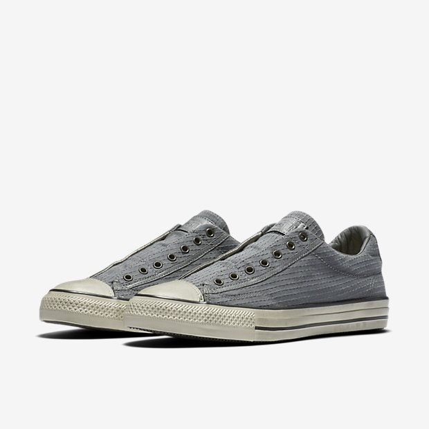 b12a8471c472 Converse x John Varvatos Chuck Taylor All Star Vintage Seersucker Low Top  Men s Slip-On Shoe