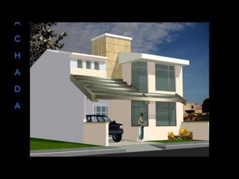 Pin de selene garc a en casa pinterest casa 3d for Casa moderna 7x20