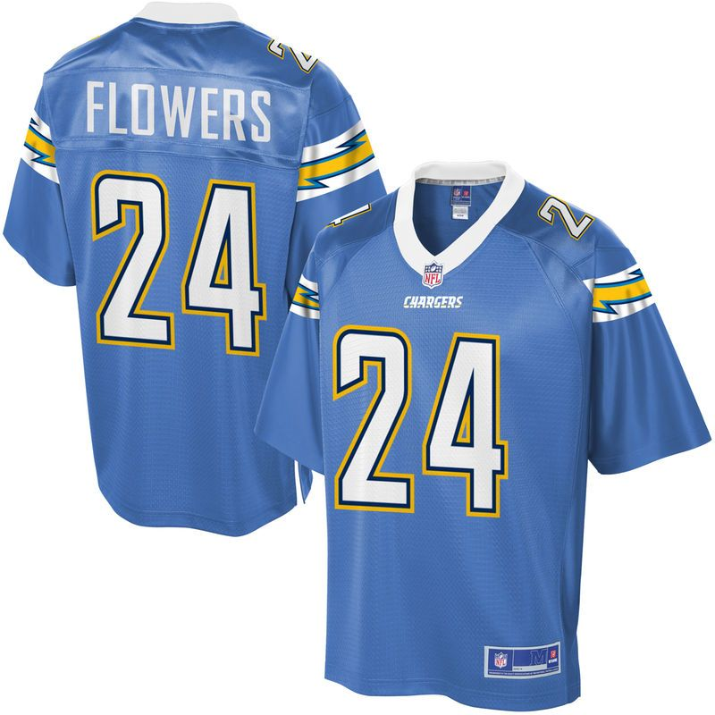 Youth Los Angeles Chargers Brandon Flowers NFL Pro Line Alternate ... c2f8d2440