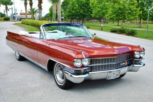 1963 Cadillac Eldorado Convertible | Cadillacs for sale | Pinterest