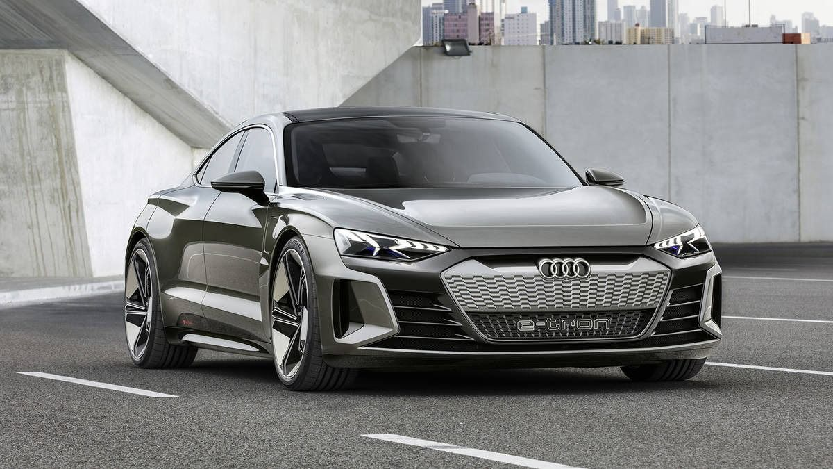 2018 Audi E Tron Gt Concept Previews Tesla Model S Fighter Due In 2020 Audi E Tron E Tron Audi
