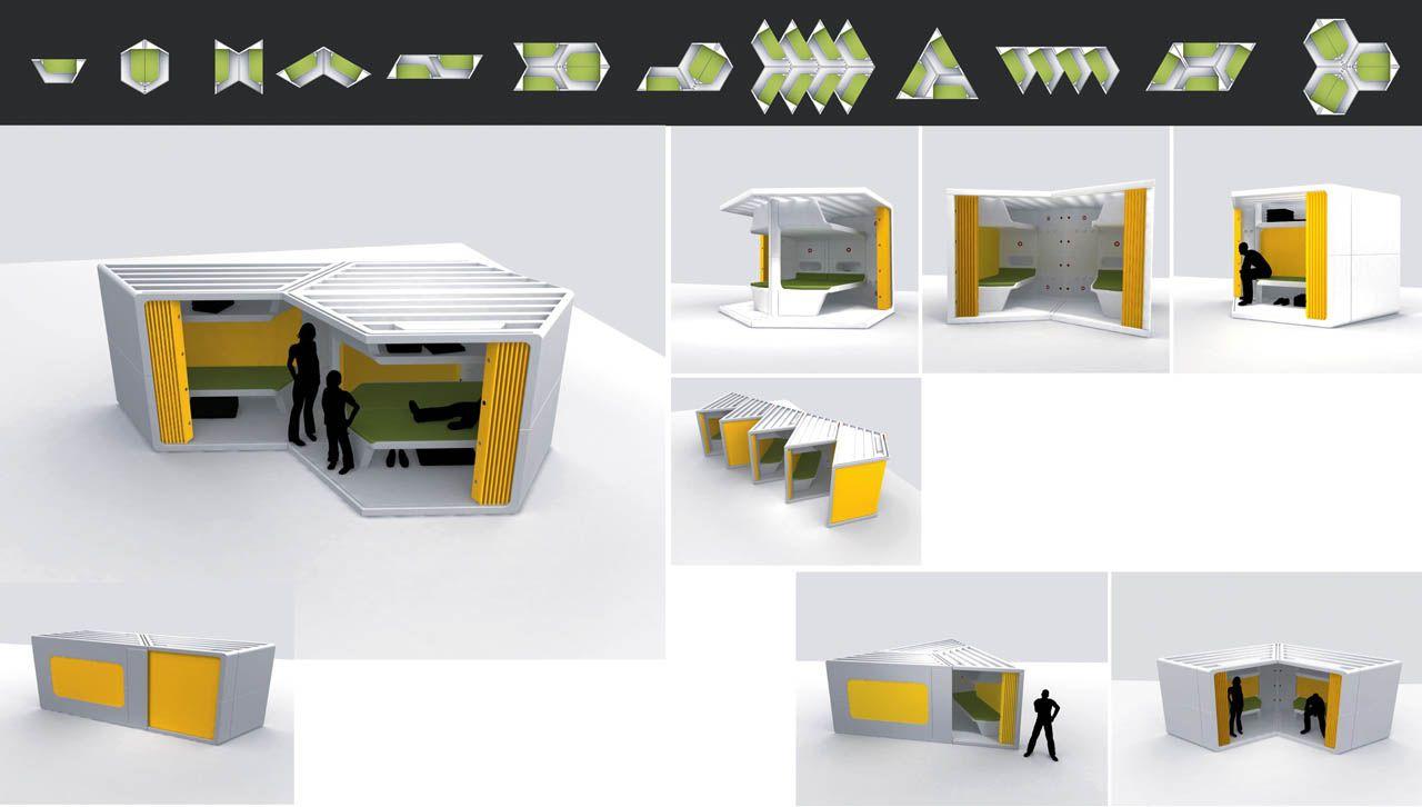 Tamer Nakisci Modular Temp Housing
