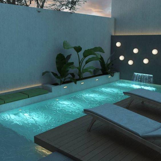 31 Ideas De Piscinas Pequenas Para Terrazas Y Jardines Estreno Casa Piscinas Modernas Diseno De Piscina Pequena Pequenas Piscinas
