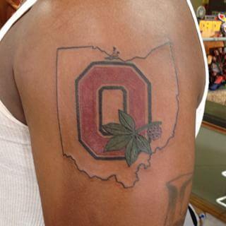 Ohio State Buckeye Tattoo 3rwg Tattoos Pinterest Ohio State