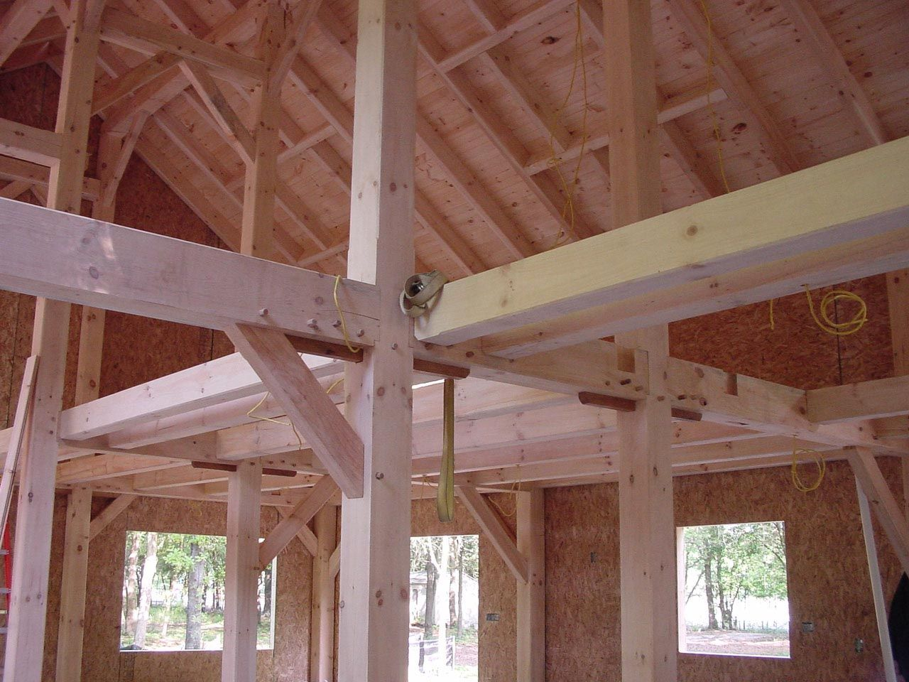 Planning wiring in timber frame homes is important and not for Simple timber frame homes