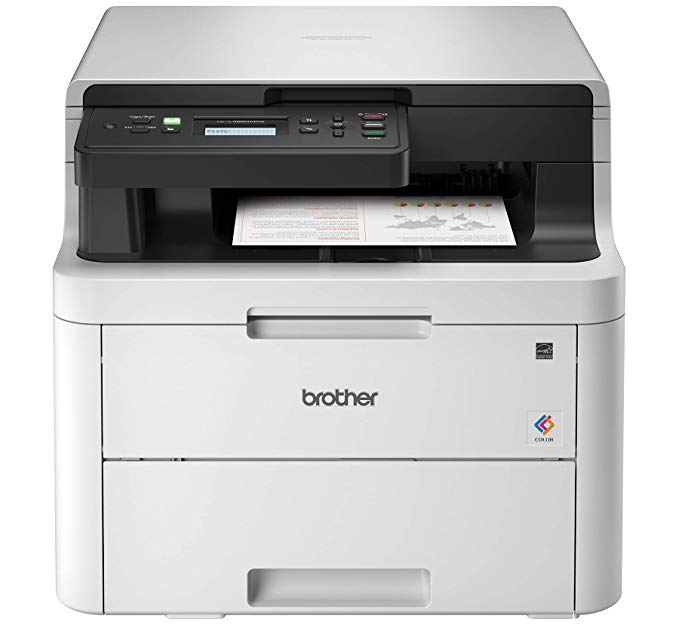 Amazon Com Brother Hl L3290cdw Compact Digital Color Printer