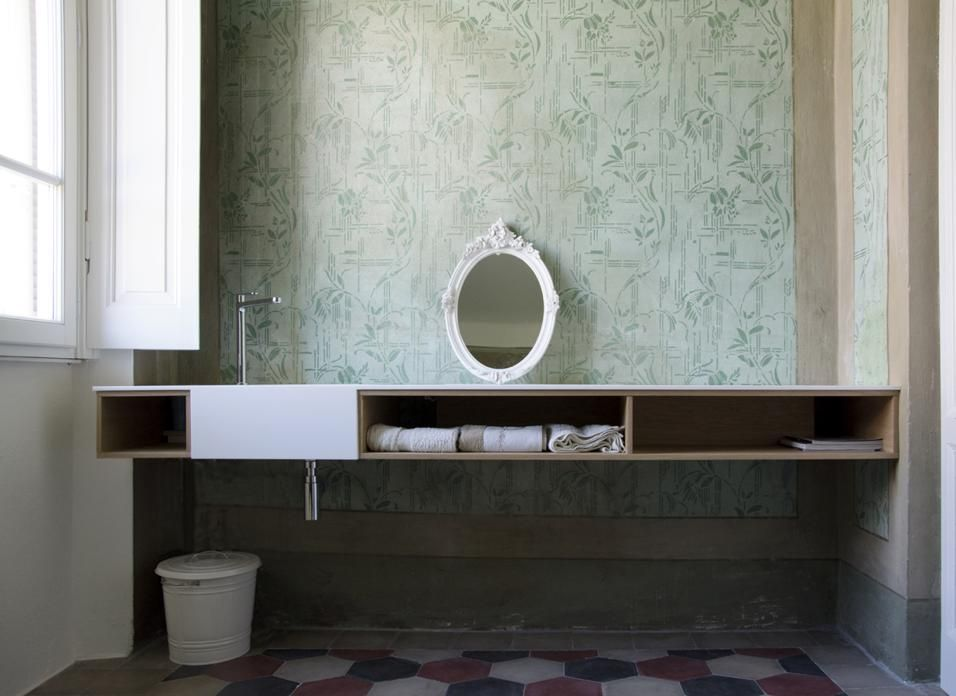 Decorazioni Bagno ~ Fascino country il bagno anche in bagno sono state riportate alla