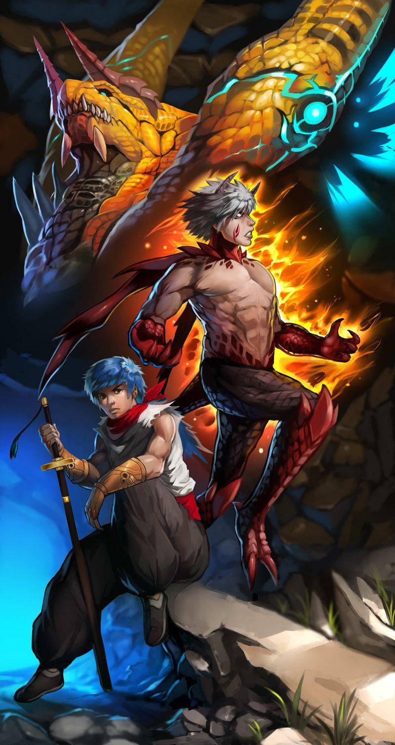 Breath Of Fire Iv Ryu By Es Jeruk Deviantart Com On Deviantart