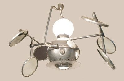 Antique Surgical Light Vintage Industrial Operay