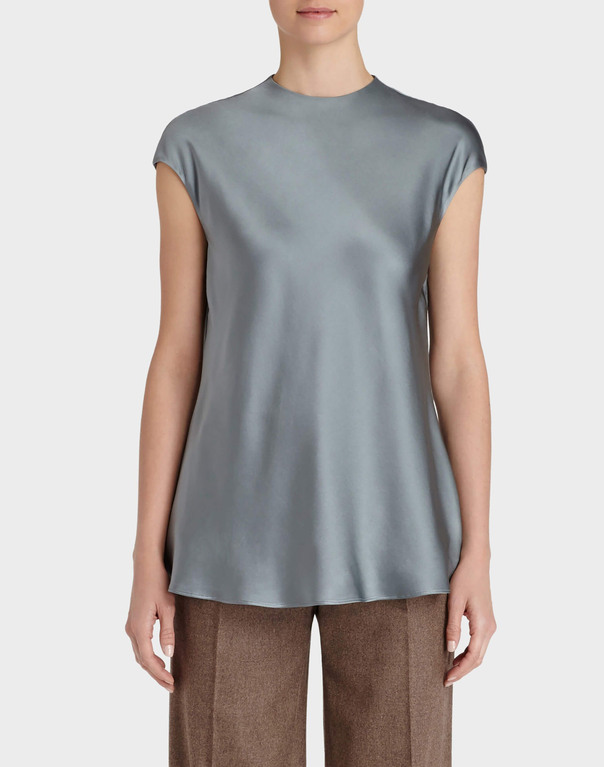 Water Washed Silk Gene Blouse - Blouses & Shirts - New Arrivals | Lafayette 148 New York: